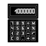Calculator.Realtor single icon in black style vector symbol stock illustration web. Calculator.Realtor single icon in black style vector symbol stock Stock Image