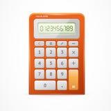 Calculator Red. Vector Royalty Free Stock Photos