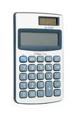 Calculator with a solar battery Royalty Free Stock Image
