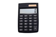 Calculator with a solar battery Stock Photography
