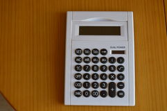 Calculator - Office Stationary Desktop Royalty Free Stock Photos