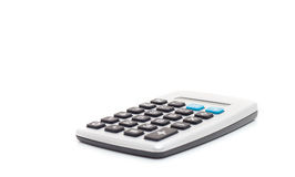 Calculator. Standard calculator. All on white background Stock Photography