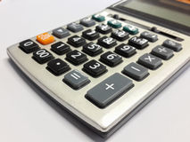 Calculator. On table in office Stock Images