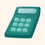Calculator theme elements Stock Photos