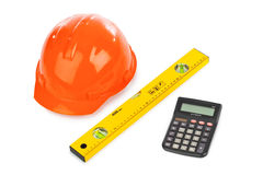 Calculator and tools Royalty Free Stock Photo