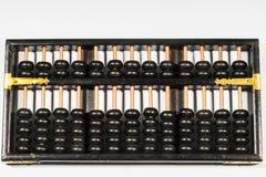 Calculator van de telraam de oude manier Stock Afbeeldingen