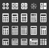 Calculator vector icons Stock Photos