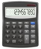 Calculator vector illustration Stock Images