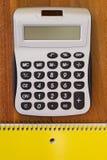 Calculator voor eenvoudige berekeningen Royalty-vrije Stock Afbeelding