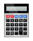 Calculator voor fundamentele wiskundige verrichtingen Royalty-vrije Stock Foto's