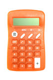 Calculator on white Royalty Free Stock Photo