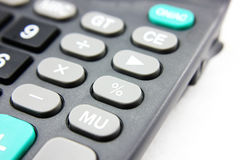 Calculator. On white background Royalty Free Stock Photos