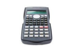 Calculator. An Calculator  on white background Stock Photography