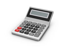 Calculator. On a white background. 3d illustration Stock Photos