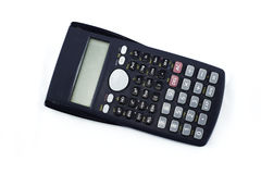 Calculator on white background. Calculator isloated on white background Royalty Free Stock Photo