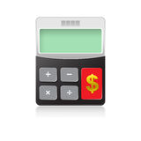 Calculator 02 Stock Image