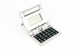 Calculator with world time and alarm clock Stock Image