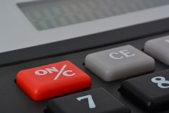 Calculatorknoop Royalty-vrije Stock Afbeelding