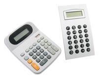 Calculators stock afbeelding