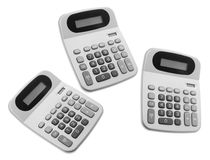 Calculators Royalty Free Stock Photography