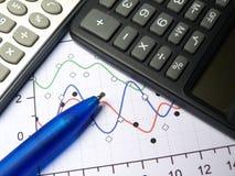 Calculators Stock Photography