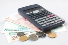 Calculators and RMB Stock Images