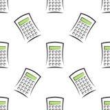 Calculators seamless pattern Royalty Free Stock Photo