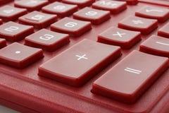 Calculatortoetsenbord Stock Fotografie
