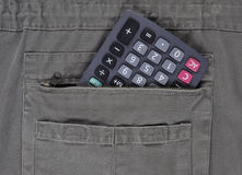 Calculatrice. image libre de droits
