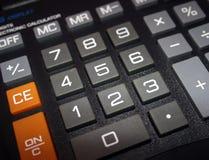 Calculatrice Photos libres de droits