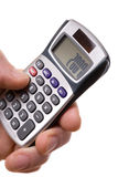 Calculatrice 2007 Photographie stock