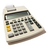 Calculatrice image stock