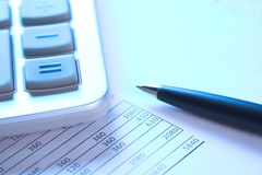 Calculatrice Images libres de droits