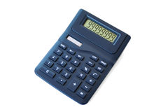 Calculatrice photographie stock