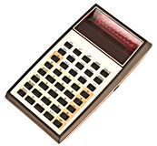 Calculatrice. Photographie stock