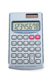 Calculatrice photos libres de droits