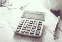 Calculatrice Image libre de droits