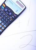 Calculatrice photos stock