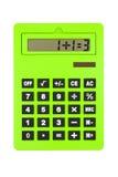 Calculatrice affichant mal, calcul de paradoxe photo libre de droits