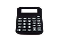 Calculatrice avec l'affichage vide Image libre de droits