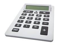 Calculatrice avec le chemin de découpage Photo stock