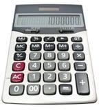 Calculatrice avec un million de bénéfice Images libres de droits
