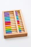 Calculatrice chinoise avec les perles colorées - plan rapproché Photo de concept Photo libre de droits