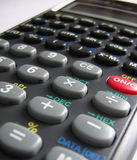 Calculatrice d'école Image stock