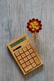Calculatrice d'affaires image stock