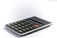 Calculatrice d'affaires Photos libres de droits