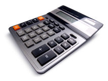 Calculatrice d'affaires Photo libre de droits