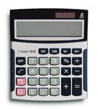 calculatrice d'affaires photographie stock
