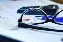 Calculatrice d'impôts Photos libres de droits