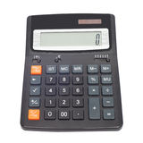 Calculatrice d'isolement Images stock